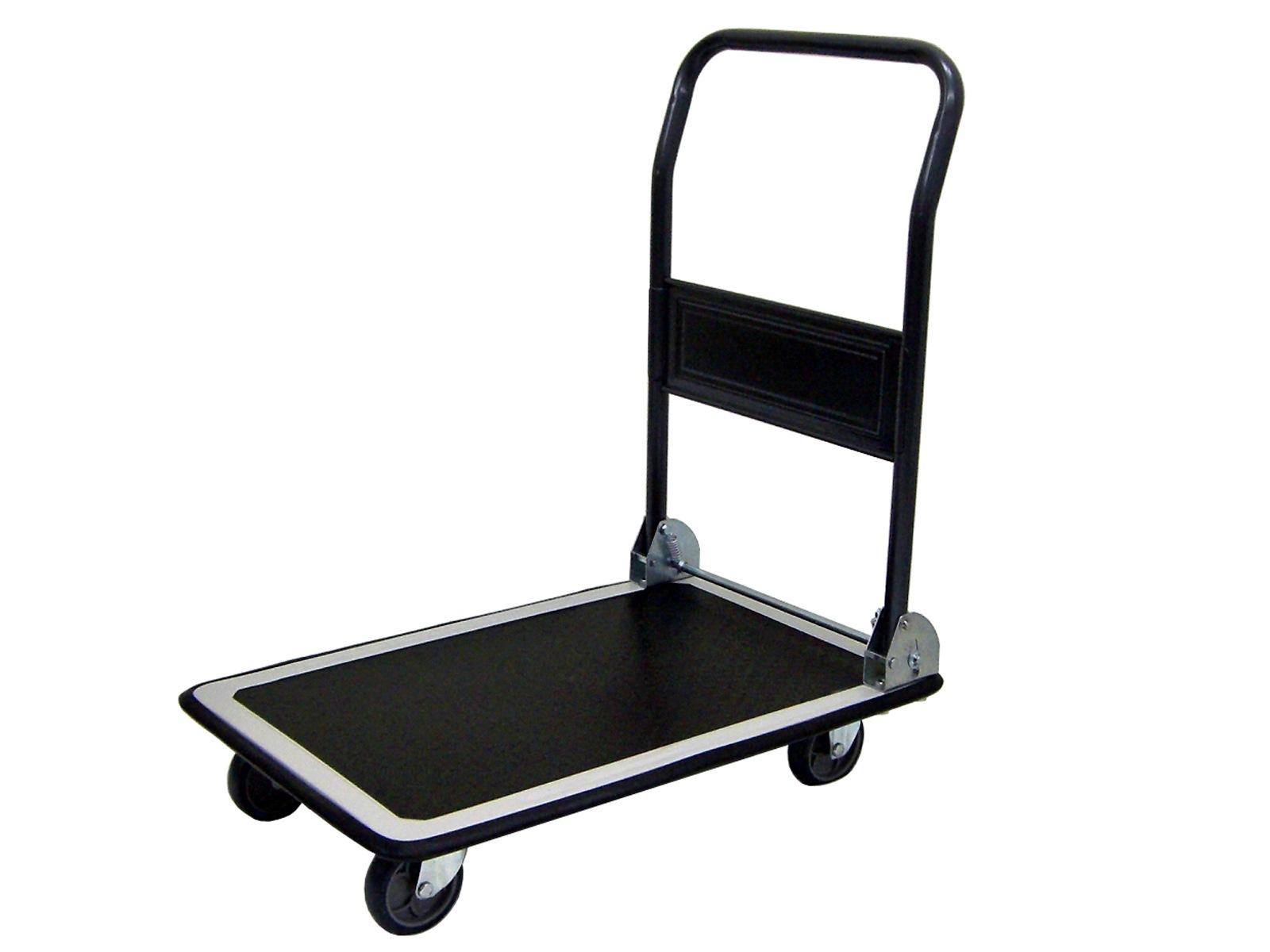 Nansin Metal Platform Trolley Foldable Handle,150kg ,724x464mm DX111