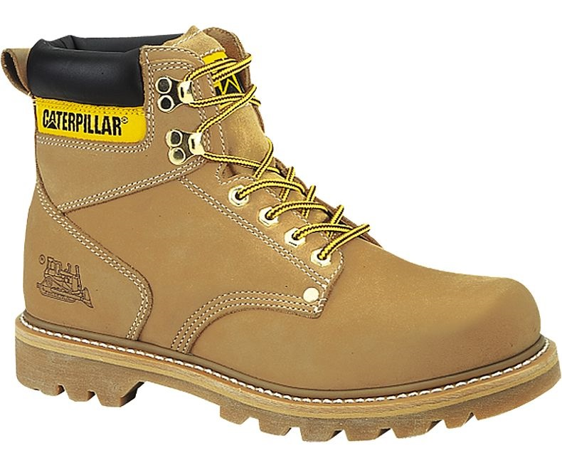 Caterpillar Men Second Shift Steel Toe Work Shoe P703376