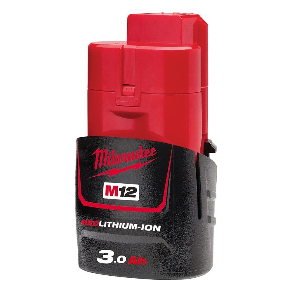MILWAUKEE LI-ION BATTERY 12V 3.0AH- M12B3
