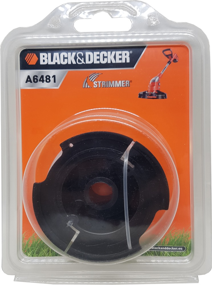 BLACK AND DECKER SPOOL & LINE 10M FOR STRIMMER GL4525CM A6481