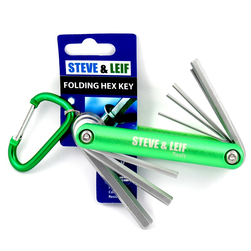 SL FOLDING HEX KEY SET 8PCS SL-501