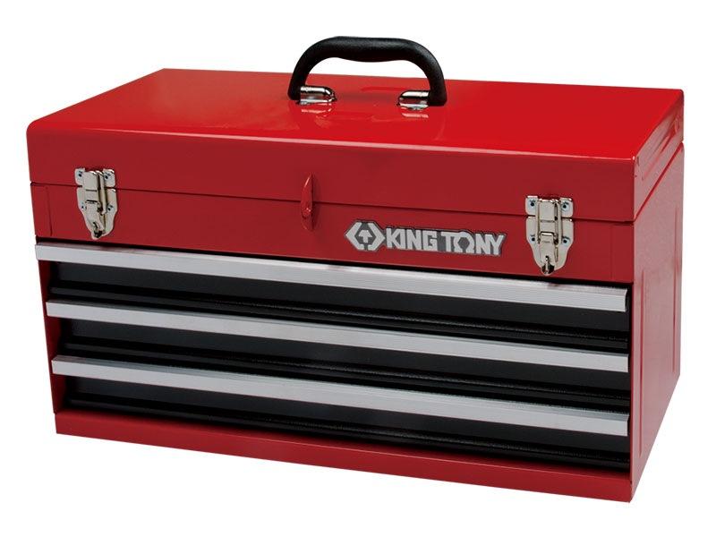 King Tony Portable Tool Chest 2 Drawer 504x195x52mm 87401-3