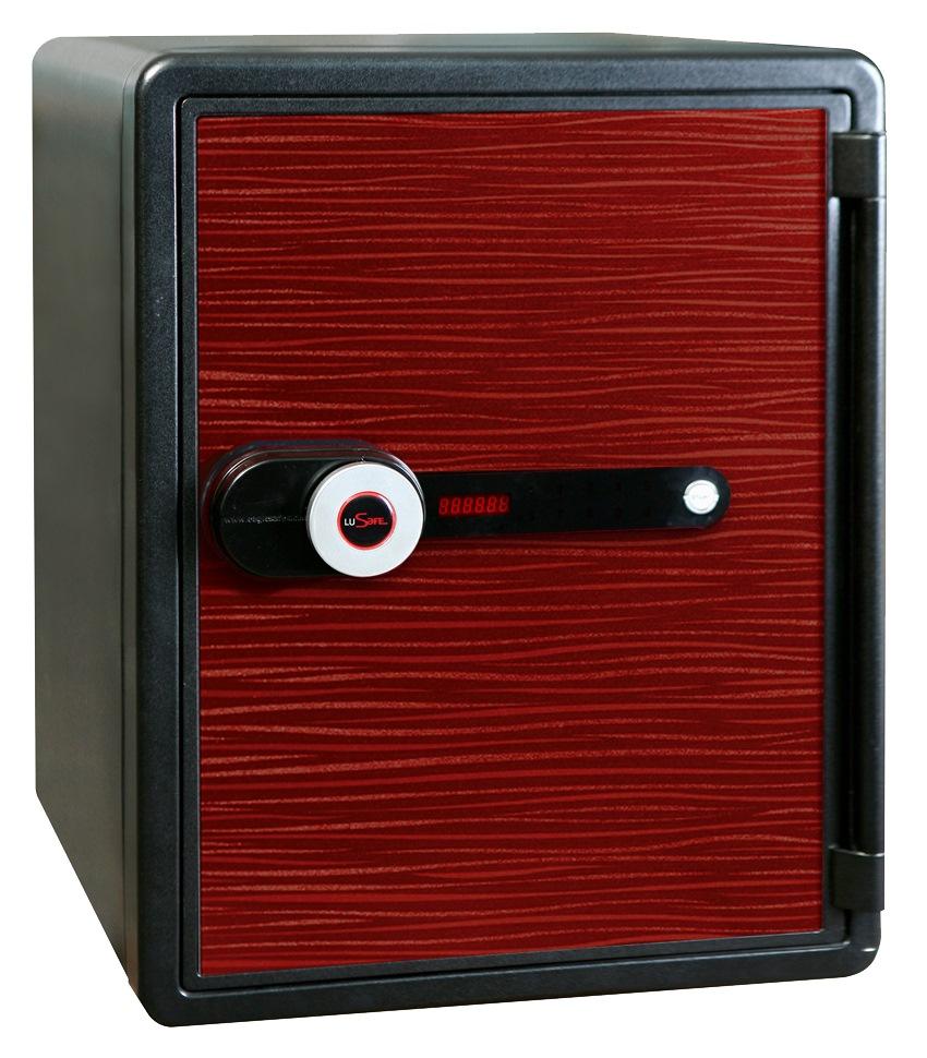 LUSAFE SAFE NPS-031DSR ZEBRA RED W/MOTOR LOCK 530(H)X410(W)X470(D)MM 63K