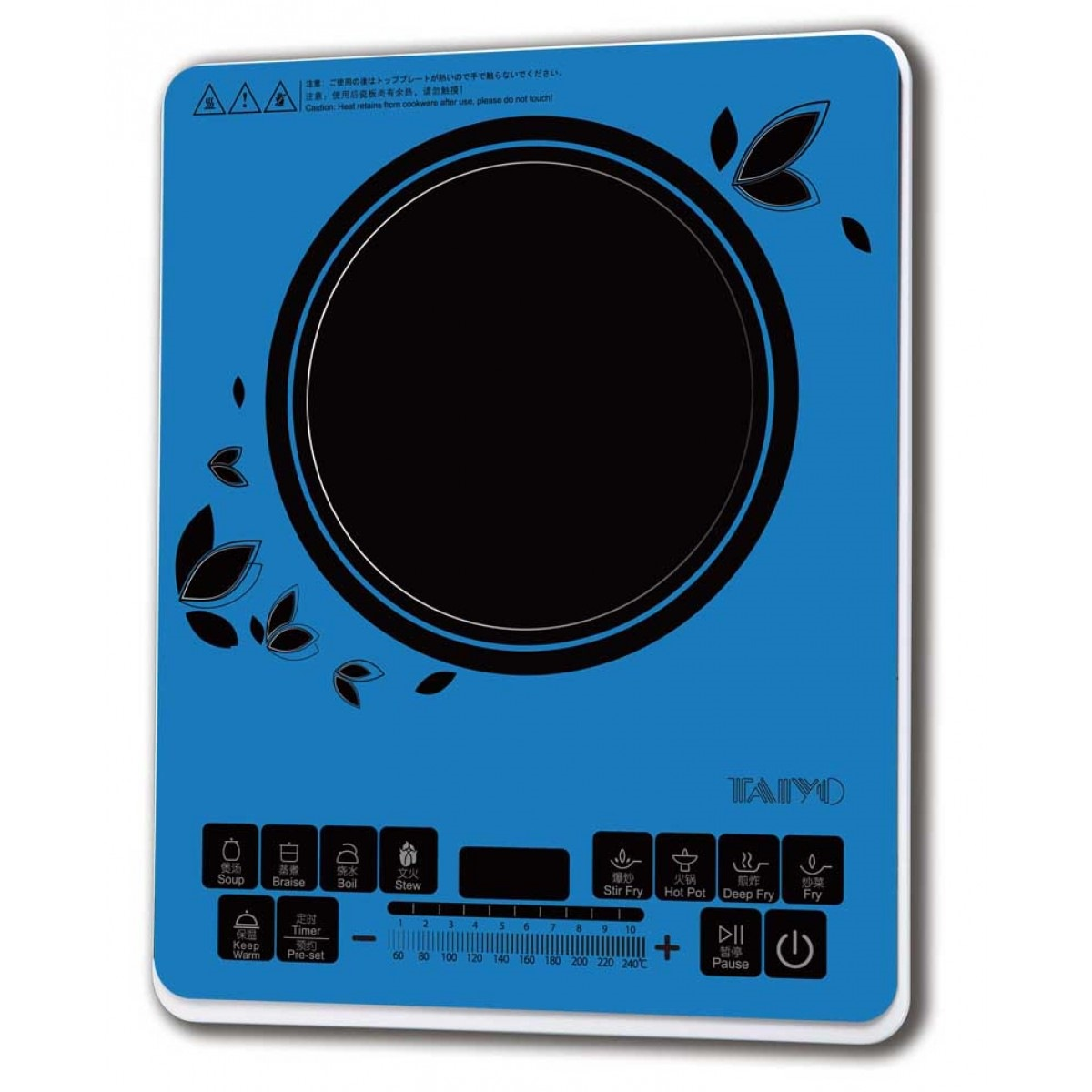 Taiyo Colour Induction Cooker Blue ICC6B