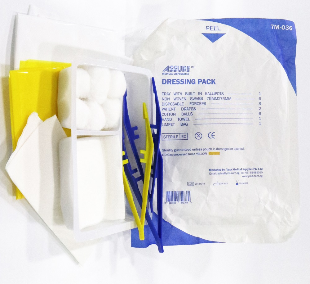 Assure Basic Dressing Pack Sterile Eith Indicator 7M036