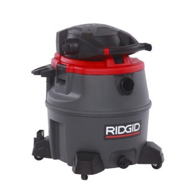 Ridgid 1390w 60l Tank Ind Wet/dry Vaccum Cleaner, WD1685ND