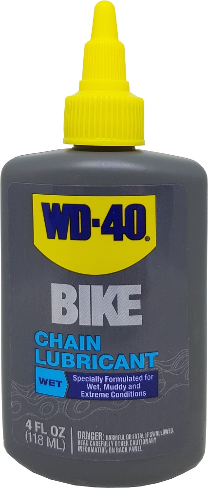 WD40 BIKE CHAIN LUBRICANT-WET 4 OZ
