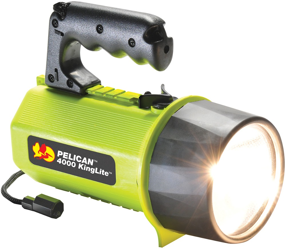 PELICAN 8D KINGLITE 4000 FLASHLIGHT [IPX7]