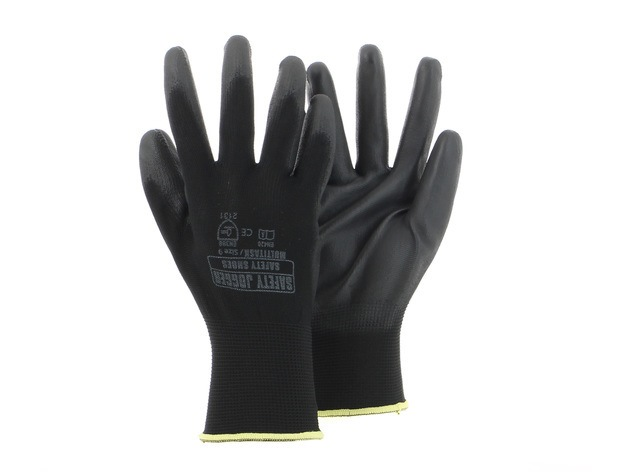 Safety Jogger Polyester Knit Gloves Multitask (dozen)