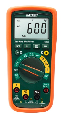 Extech Trms Multi Meter With Ncv EX350