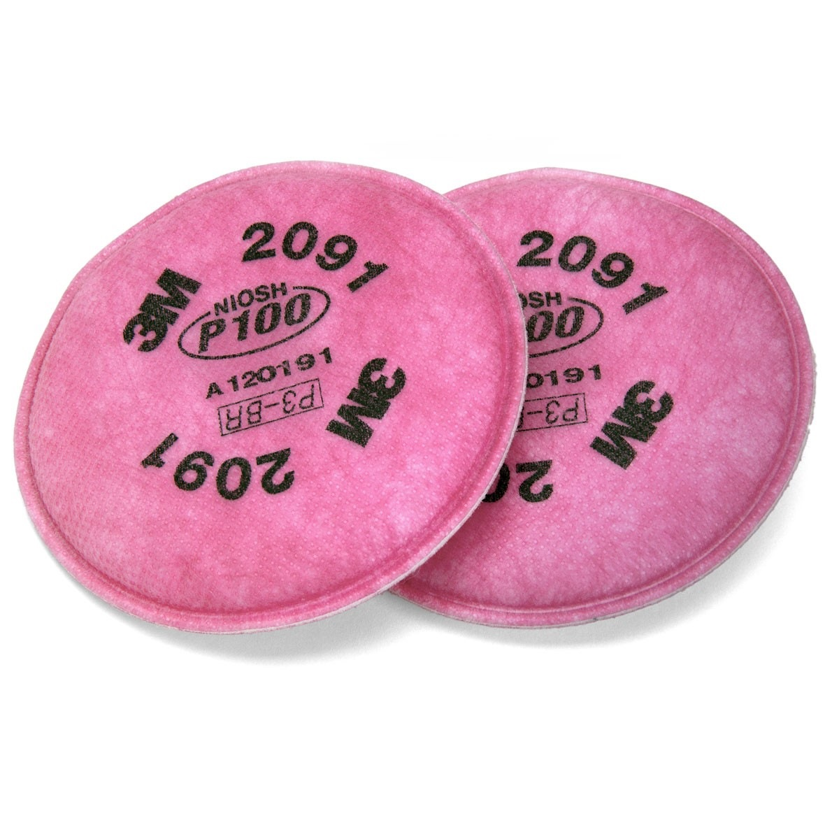 3m P100 Particulate Filter 2091 (2pcs/pack)