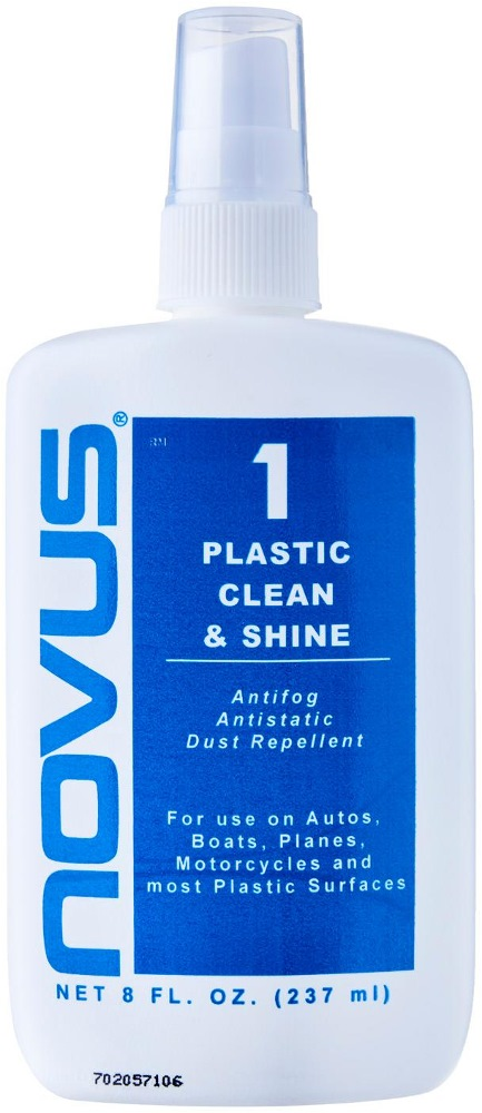 Novus Plastic Clean & Shine 8oz (237ml)- No.1 Made in Usa