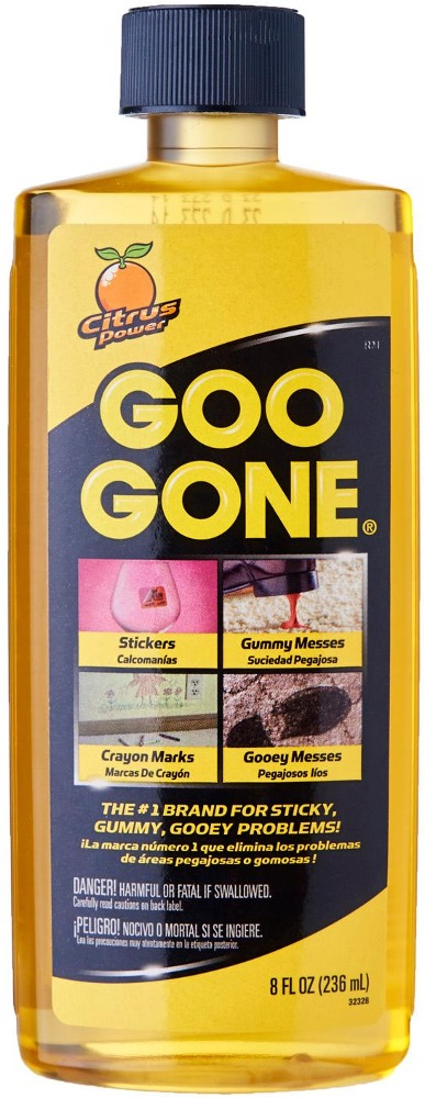 Goo Gone for Sticky Messes & Stain Removal 8fl.oz(236ml)