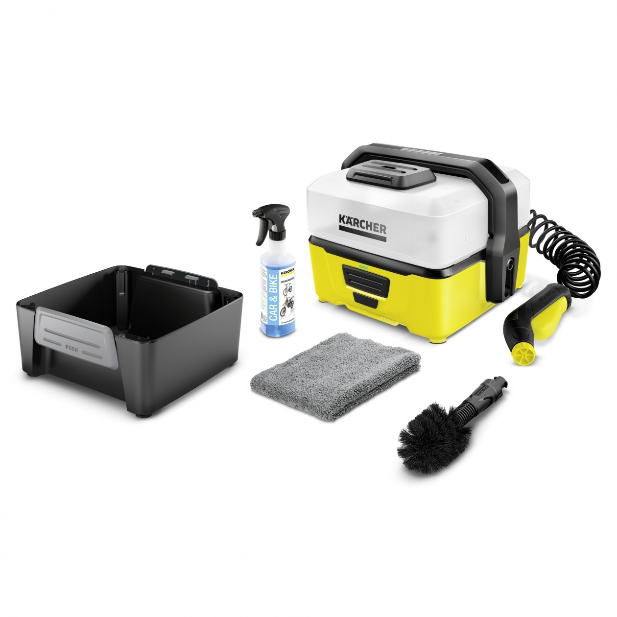 Karcher 5 Bar Outdoor Battery Mobile Washer OC3