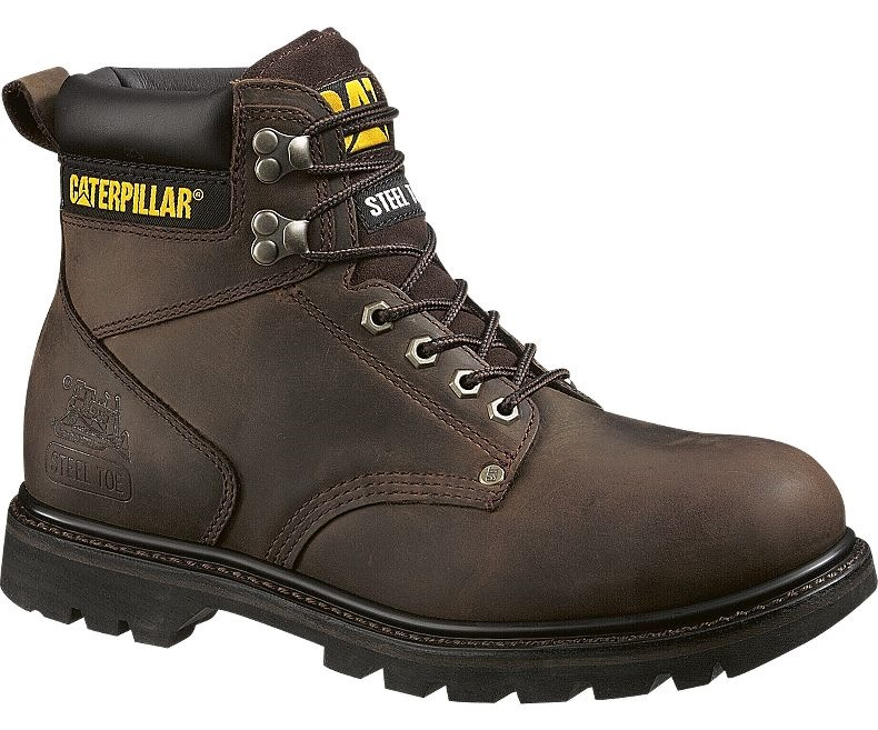 Caterpillar Men Second Shift Steel Toe Work Shoe P89586