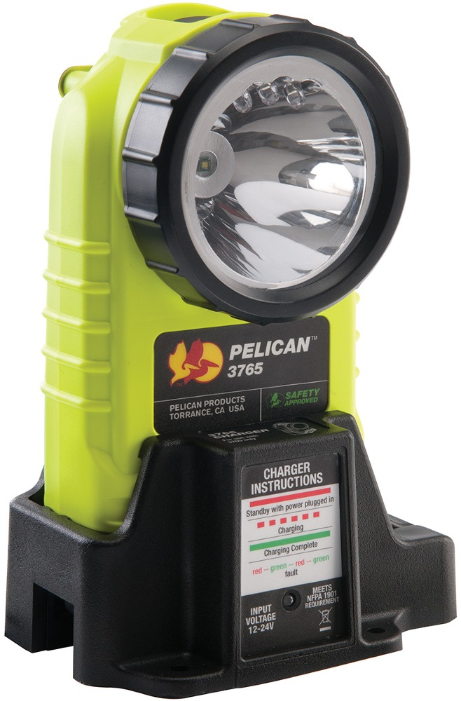 "PELICAN RIGHT ANGLE LED RECHARGEABLE FLASHLIGHT 3765 5.36"" [IPX4]"