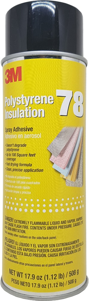 3m 78 Polystyrene Foam Insulation 17.9oz / 508g