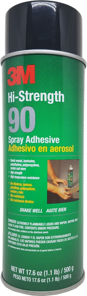 3m HI-STRENGTH 90 Spray Adhesive 17.6oz