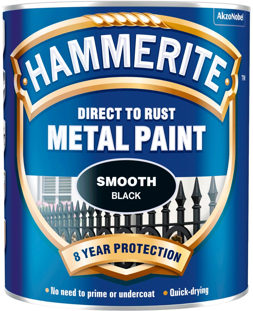 HAMMERITE DIRECT TO RUST METAL PAINT SMOOTH -750 ML