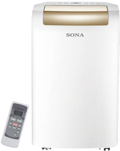 Sona 14000btu Remote Control Portable Air-con SACN6203