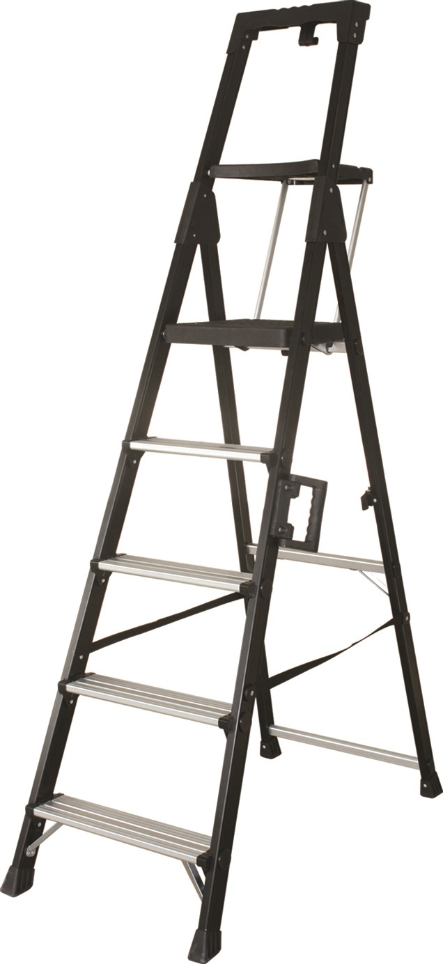 Louison Heavy Duty Black Anodized Aluminium Ladder Jm015 Series
