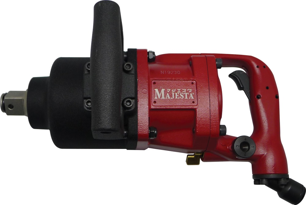 "MAJESTA 1"" AIR IMPACT WRENCH SHORT SHANK WR-812T-2"