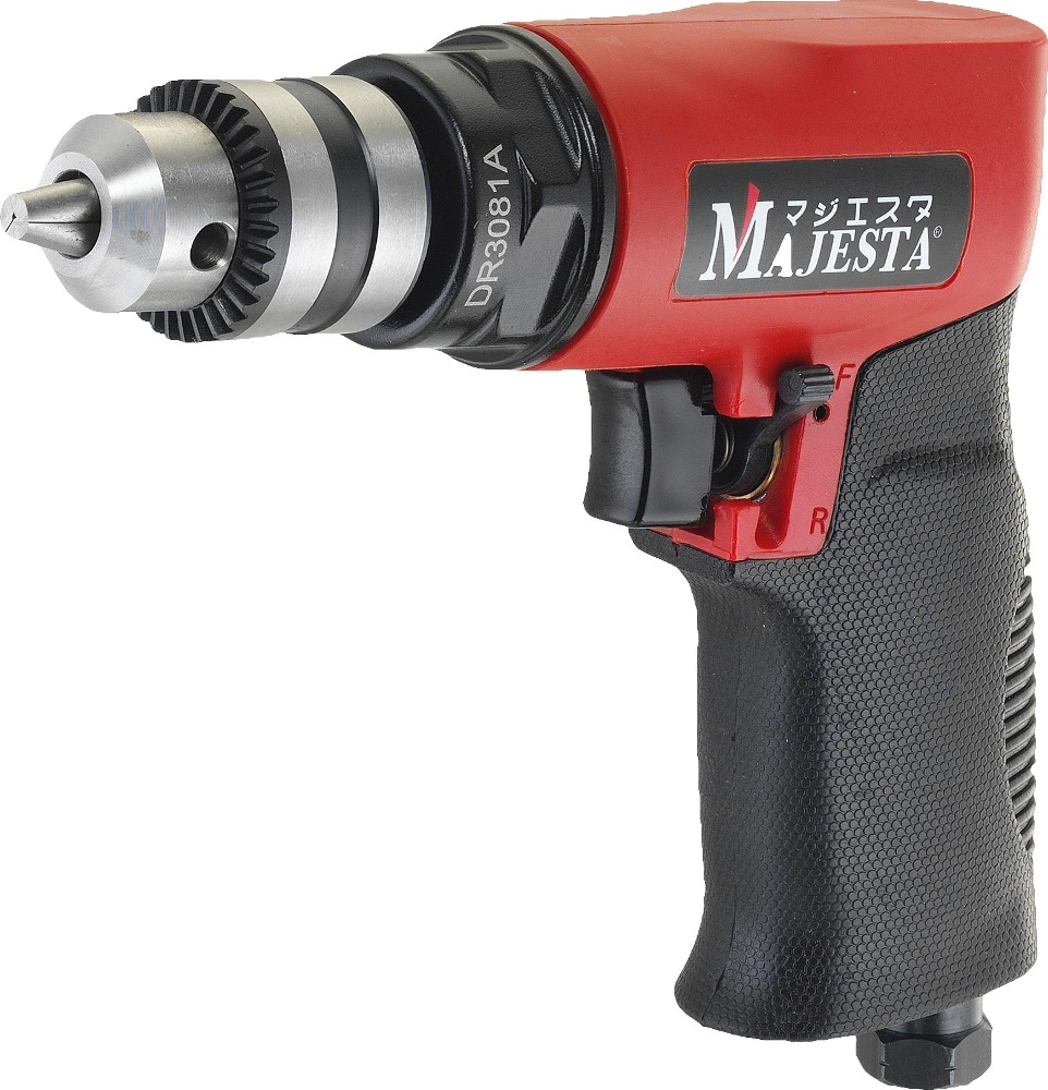 """Majesta 3/8"""" Air Reversible Drill 2 Gear DR-213DP"""