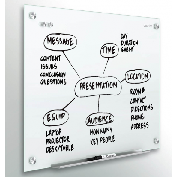 QUARTET Infinity Glass Magnetic Boards