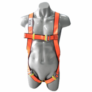 Skyhawk Safety Harness with Shock Absorber, Double Lanyard & Karabiner