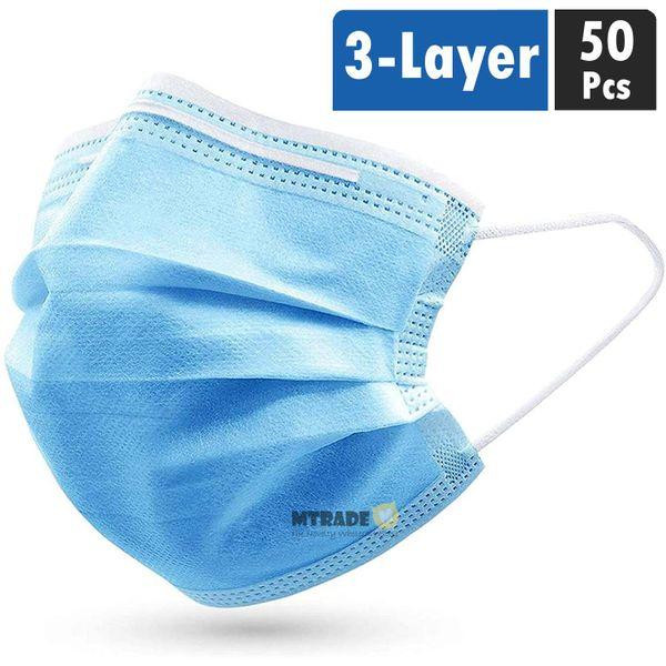 3-layer Disposable Face Mask 50pcs/box