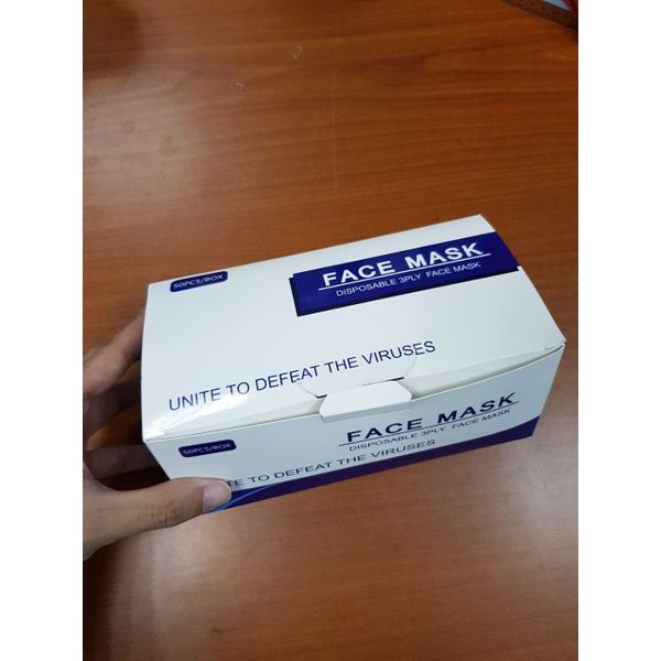 3 Ply Surgical Face Mask Bfe >95%