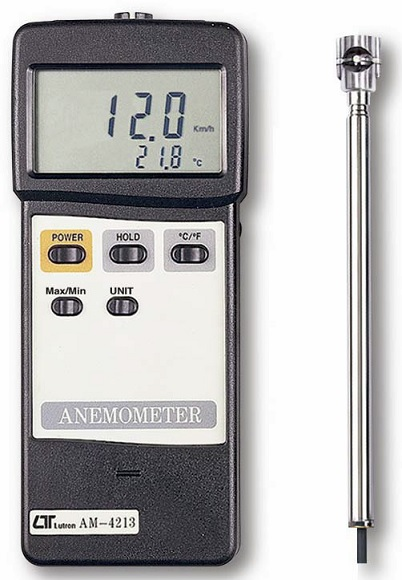 Lutron Mini Vane Anemometer AM-4213