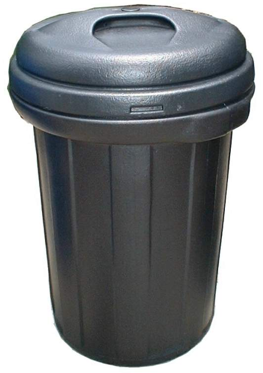 90 Litres Round Garbage Bin C/w Cover