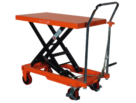Stocky Hydraulic Table Lifter Orange