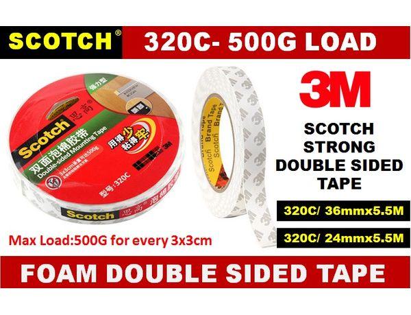 3m 320c Foam Double Sided Tape