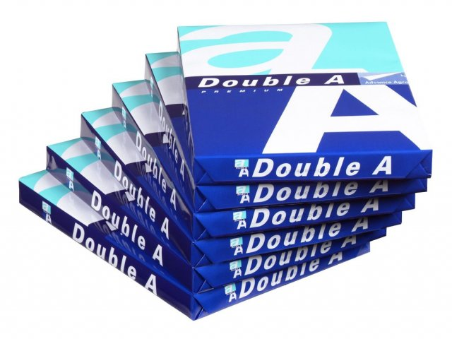 Double A A4 Paper 70gsm / 80gsm (Carton - 5 Reams)