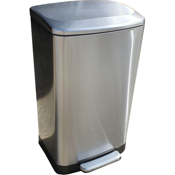 40 Litres Stainless Steel Foot Pedal Bin
