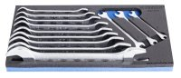 Unior Set of Open End Wrenches in Sos Tool Tray 964/1SOS