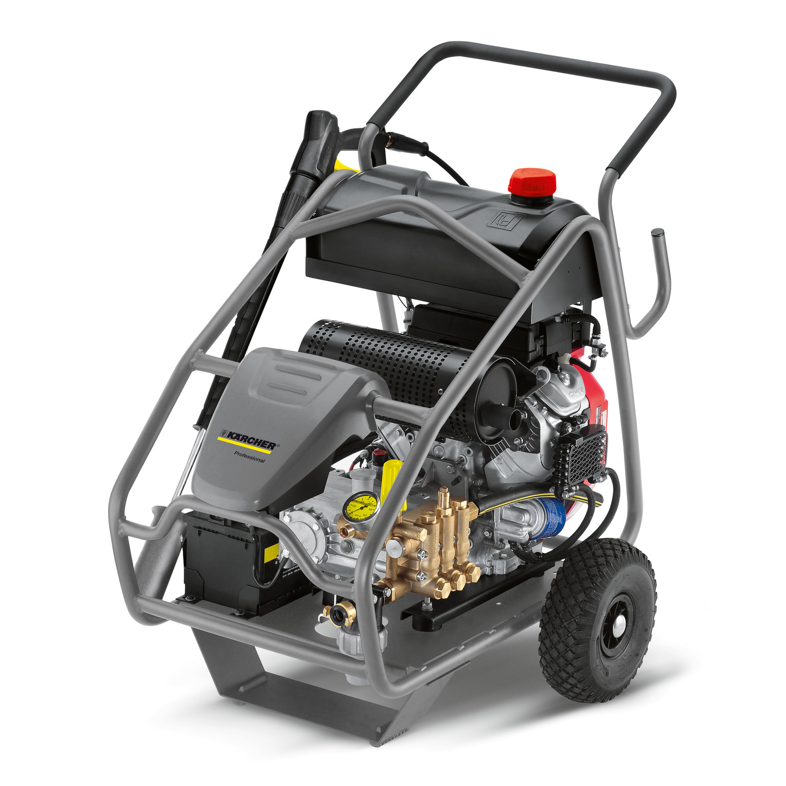 Karcher Diesel Driven High Pressure Cold Water Cleaner HD 13/35-Ge Cage