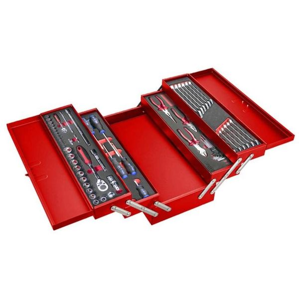 5 Tray Carry Box With 61pcs Multi-function Tool Set