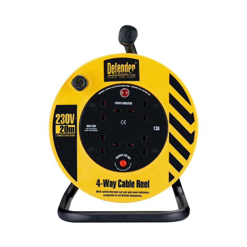 Defender Industrial Cable Reel