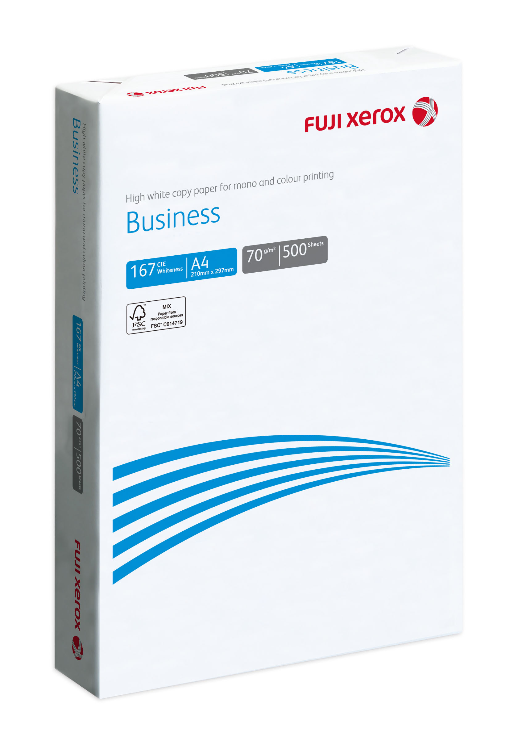 FUJI XEROX COPIER PAPER BUSINESS A4 70GSM FSC™(5 REAMS/BOX)