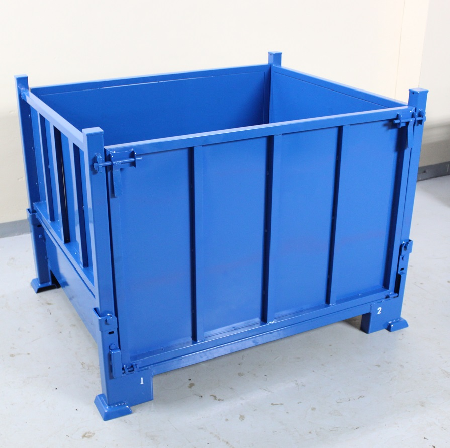 Corrugated Collapsible Steel Container