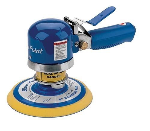 6 in Dual Action Sander AT411A