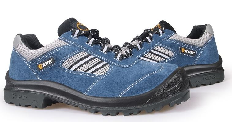 Kpr M-series Non-metallic Low Cut / Rubber Suede Lace up Sports Safety Shoes