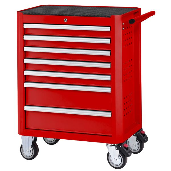 7-drawer Tool Cabinet (red)