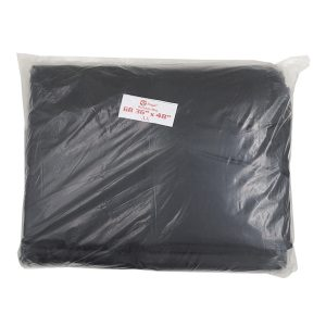 BLACK GARBAGE BAG 36 X 48 INCH