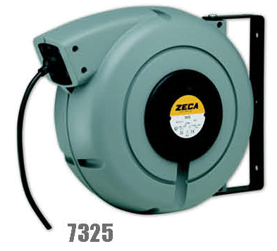 Zeca/Italy Retractable Cable Reel - 3 Conductors (Conductors section = 2.5mm², 230V/110V, 20mtr+2mtr coiled cables)