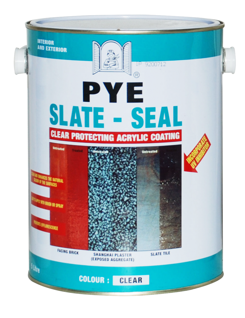 Pye Slate-seal Clear Protecting Acrylic Sealer 1.0 Litres Colourless - RESL-10