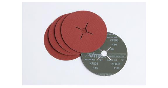 "4"" 100mm Fibre Discs AO (box)"
